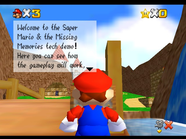 Super Mario - Missing Memories (Demo) - Misc  -  - User Screenshot