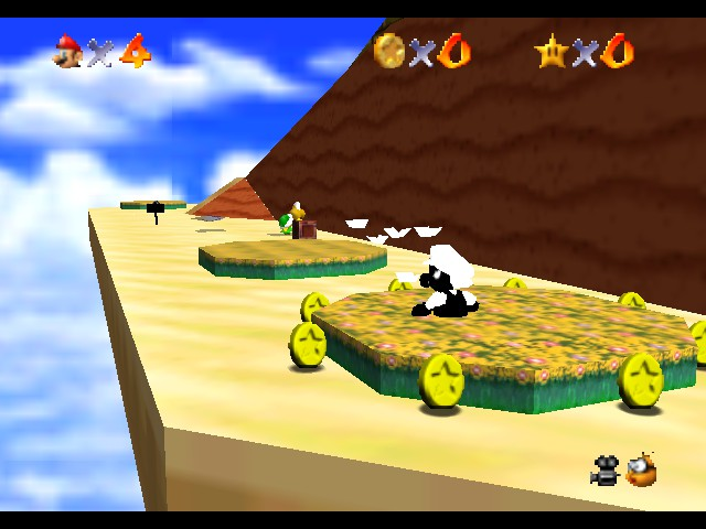 Super Mario 64 and the Colorless Castle -  - User Screenshot