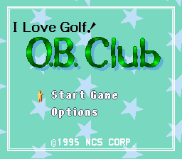 BS Golf Daisuki! O.B. Club (English Translation) - Introduction  -  - User Screenshot