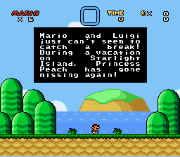 Mario & Luigi - Starlight Island Adventure - Introduction  -  - User Screenshot