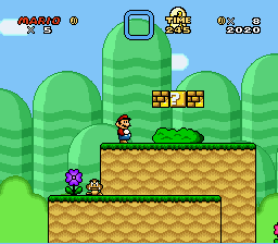 Mario & Luigi - Starlight Island Adventure - Level  -  - User Screenshot