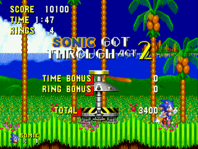 Sonic 2 - S3 Edition - game works fine - User Screenshot