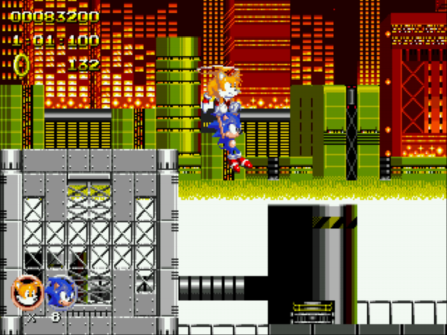 Sonic 2 Heroes - tails: lose the weight sonic!!! - User Screenshot