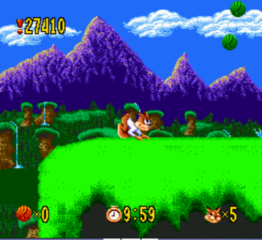 Bubsy - On your mark, get set... - User Screenshot