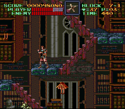 Super Castlevania IV - Wait...book...legs?!???????? - User Screenshot
