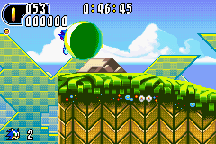 Sonic Advance 2 - Is this a glitch? - User Screenshot