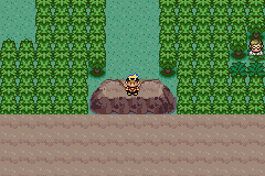 Pokemon Kohaku Adventures - you cannot exit mt moon forest place lol! - User Screenshot
