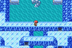 Pokemon Naranja (v2) - cristal cave with cristal onix! - User Screenshot
