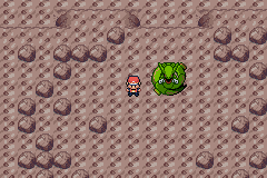 Pokemon Ruby Destiny Reign of Legends - rayquaza sleeping! - User Screenshot