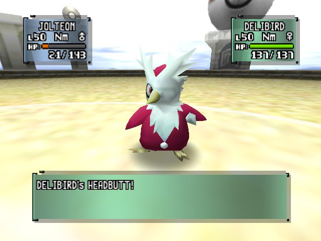 Pokemon Stadium 2 - one eyed delibird - User Screenshot