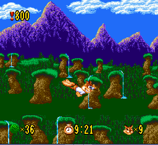 Bubsy - I believe i can fly!!!!!!!!! - User Screenshot