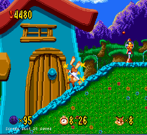 Bubsy - I never knew bubblegum could hurt so much!!!  - User Screenshot