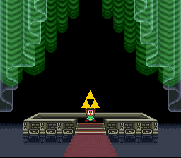The Legend of Zelda - A Link to the Past - Ending  - Glitched my way to the Triforce! - User Screenshot