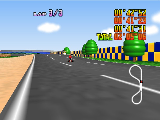 Mario Kart 64 - see if you can baet this time - User Screenshot