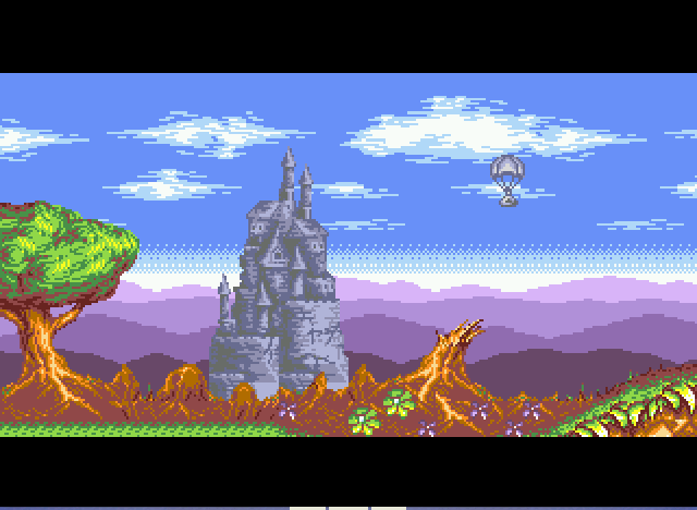 Rocket Knight Adventures - thank GOD for parachutes! - User Screenshot