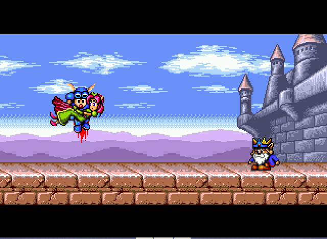 Rocket Knight Adventures - hero saves the princess - User Screenshot
