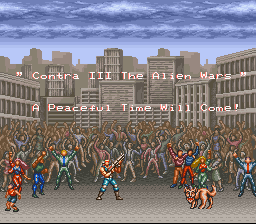 Contra III - The Alien Wars - I like the chicks - User Screenshot