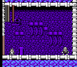 Mega Man 4 - Megaman vs Skullman - User Screenshot