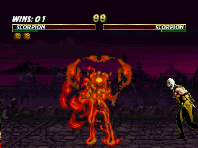 Mortal Kombat Trilogy - TOASTY! - User Screenshot