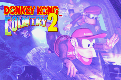 Donkey Kong Country 2 - Title Screen - User Screenshot