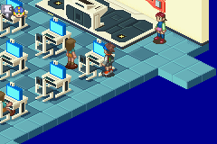 Megaman Battle Network 2 - Check this desk for a PanlGrab P. - User Screenshot