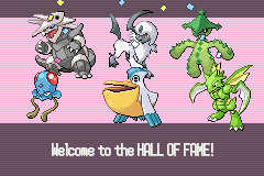 Pokemon Obsidian - My Victory Team - User Screenshot
