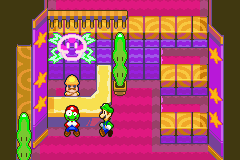 Mario & Luigi - Superstar Saga - Luigi:Umm mario are you ok? - User Screenshot