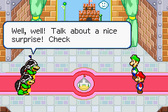 Mario & Luigi - Superstar Saga - I hate this minigame. D: - User Screenshot
