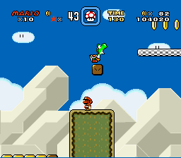 Super Mario World - Character Profile bug - Power down - User Screenshot