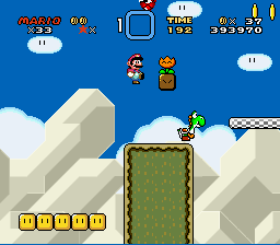 Super Mario World - Location bug - create a bug - User Screenshot