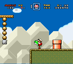 Super Mario World - Location bug - final step - User Screenshot