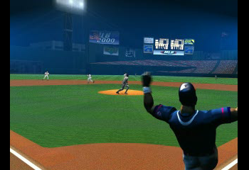 MLB 2000 - Introduction  - Home run! - User Screenshot