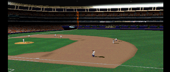 MLB 2000 - Cut-Scene  - taking the field - User Screenshot