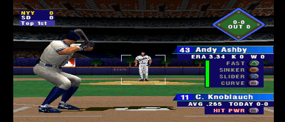 MLB 2000 - Level  - batter up - User Screenshot