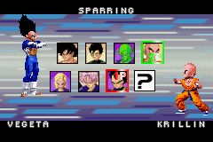 Dragon Ball Z - Taiketsu - Character Profile  - WHY IS VEGETAS HAIR BIGGER THAN HIS HEAD!?!? - User Screenshot