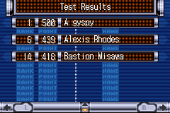 Yu-Gi-Oh! GX - Duel Academy - Misc exam results - Oh yeah! The gypsy pwns all! - User Screenshot