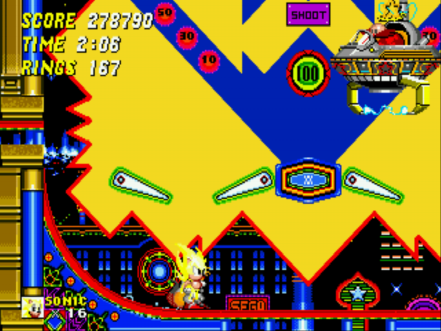 "Sonic the Hedgehog 2 - Battle  - Your contraption is useless. Eggman: ""SO?!?"" - User Screenshot"