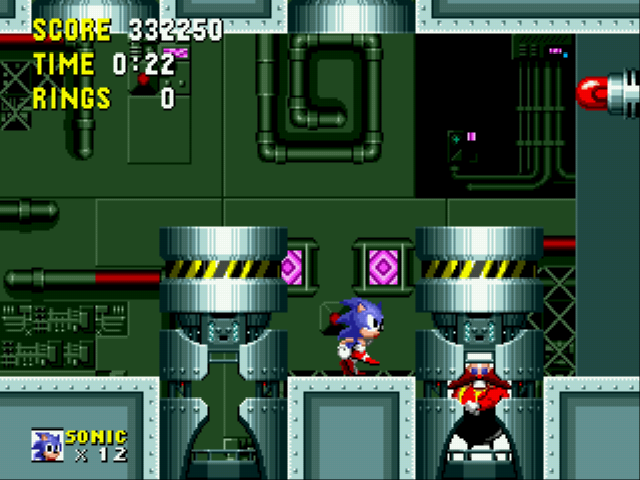 "Sonic the Hedgehog - Battle  - Eggman: ""AAGH!!! Curse You! Egad!"" - User Screenshot"