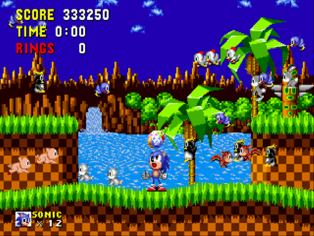 Sonic the Hedgehog - Cut-Scene  - Awaaaay, they go.... - User Screenshot