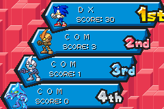 Sonic Battle - Battle  - SONIC VS SILVER VS EMERL VS CHAOS - User Screenshot