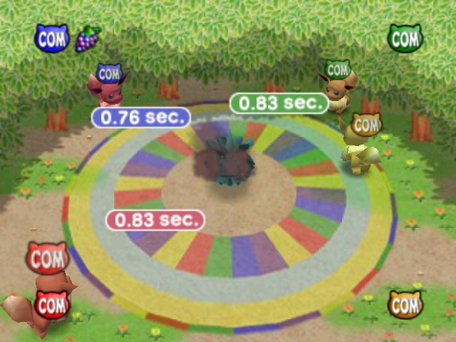 Pokemon Stadium 2 - Mini-Game  - Nice try, I take next round for myself :p - User Screenshot