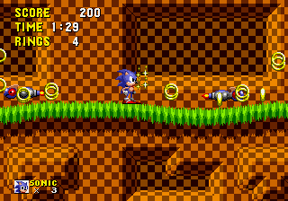 Newtron -Level Green Hill Zone:Annoying little newtrons xc - User Screenshot
