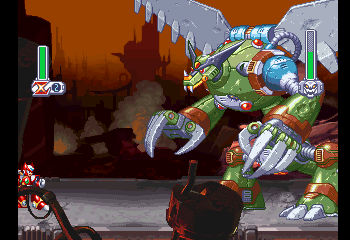 Zero -Level Intro Stage:Hi giant dragon robot thing - User Screenshot