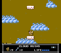 Little Nemo - The Dream Master - Level  - Cloud Ruins (Middle) - User Screenshot