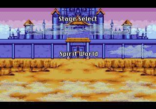 Yuu Yuu Hakusho (english translation) - Location Spirit World - Stage Select: Spirit World - User Screenshot