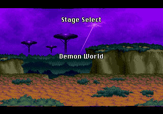 Yuu Yuu Hakusho (english translation) - Location Demon World - Stage Select: Demon World - User Screenshot