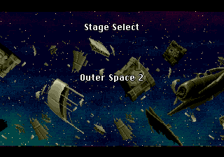 Yuu Yuu Hakusho (english translation) - Location Outer Space 2 - Stage Select: Outer Space 2 - User Screenshot