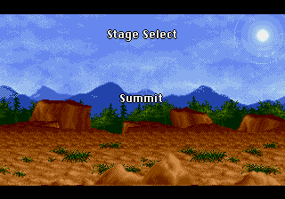 Yuu Yuu Hakusho (english translation) - Location Summit - Stage Select: Summit - User Screenshot