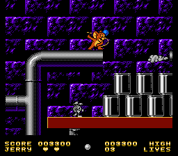 Tom and Jerry (& Tuffy) - Level  - Careful of steam from pipes - User Screenshot
