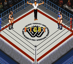Super Fire Pro Wrestling - Queen